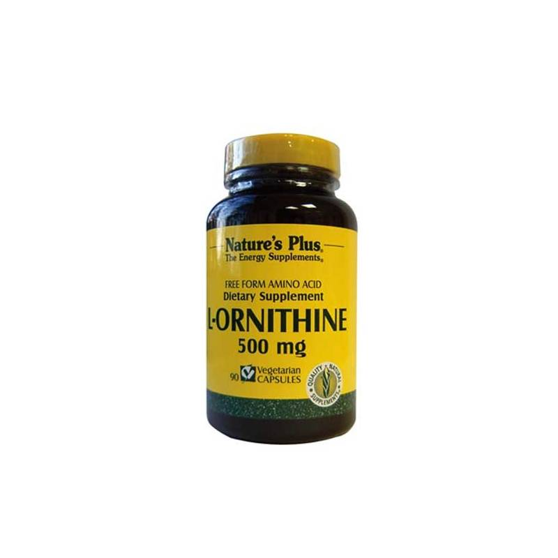 Ornithine 500 mg NATURE'S PLUS
