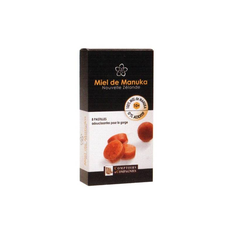 Miel Manuka UMF 10+ Pastille COMPTOIRS ET COMPAGNIES