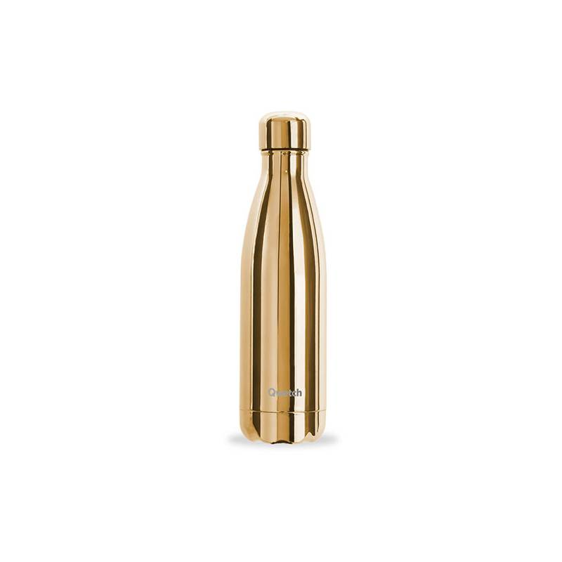 Bouteille Isotherme Gold 500 ml QWETCH
