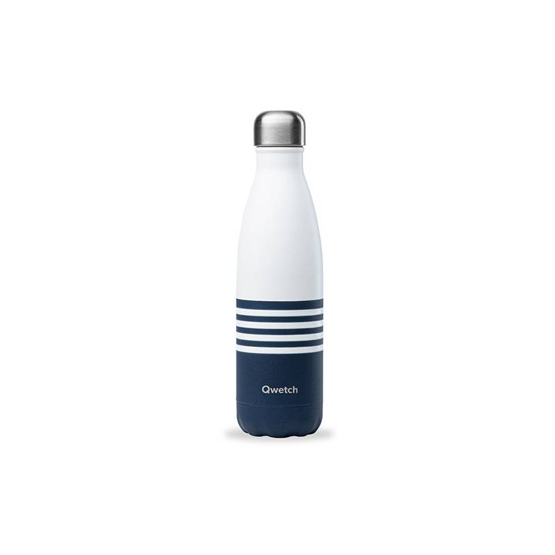 Bouteille Isotherme Marinière 500 ml QWETCH